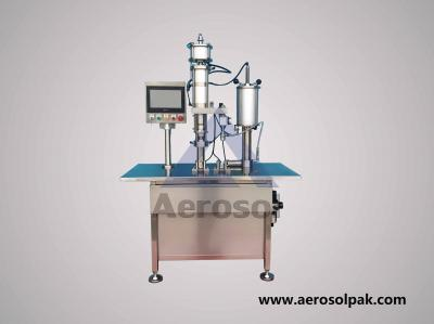 AS-2B Semi-auto Bag-on-valve Aerosol Filling Machine