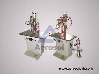 AS-2A Semi-auto Bag-on-valve Aerosol Filling Machine